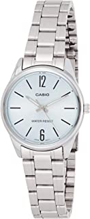 Casio Women's Dial Stainless Steel Band Watch - LTP-V005D-2BUDF