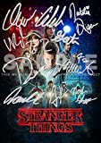 Stranger Things 2 TV Show Print - Ross Duffer Winona Ryder David Harbour Finn Wolfhard Millie Bobby Brown Gaten Matarazzo Caleb McLaughlin Natalia Dyer Charlie Heaton...etc - Cast PP (11.7' x 8.3')