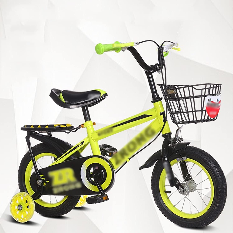 FEIFEI 子供用自転車ベビーキャリッジ12/14/16/18/20インチマウンテンバイクブルーレッドイエローセキュリティ保護