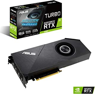 ASUS NVIDIA GeForce RTX 2080 掲載 シングルファンモデル 8G TURBO-RTX2080-8G-EVO
