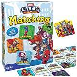 GXLO Marvel Juego a Juego para niños y niñas de 3 a 5 años. Juego de Memoria del superhéroe para Fiesta Familia Tabla Jugar Juegos de Mesa Entretenimiento