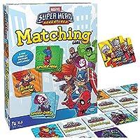 マーベルマッチングゲーム 男の子と女の子のために3から5歳まで スーパーヒーローメモリーゲーム パーティーファミリーカード遊ぶテーブルゲームエンターテイメント