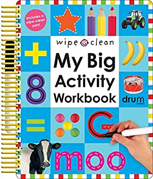 Wipe Clean  My Big Activity Workbook  My Big Step by Step