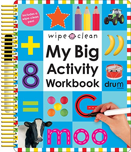 Wipe Clean: My Big Activity Workbook (My Big Step by Step)