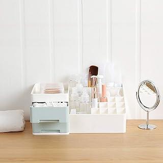 Plastic Cosmetische Opbergdoos Multifunctionele Make-updoos Kaptafel Stofdichte Lades Lippenstifthouder Desktop-organizer ...
