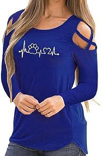 Women Summer Short Sleeve Strappy Cold Shoulder T-Shirt Tops