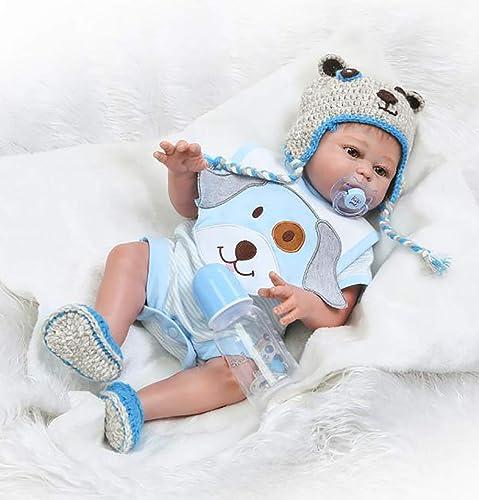 barato ZIY ZIY ZIY IUI 20  50cm Reborn Bebé de Cuerpo Entero de Silicona de Vinilo Babbo Hecho a Mano Cuerpo de la niña de la muñeca Rebote más Popular Preferido Regalo  oferta de tienda