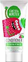 Fresh Monster Natural, Toxin-free Kids Hair Conditioner, Strawberry Smoothie,1 count 6 oz.