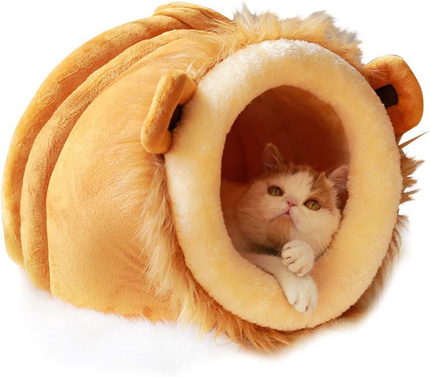 BHDYHM Pet Bed,Soft Pet Nest,Cat and Dog Cushion Bed,Dog Kennel,Dog Bed,Removable and Washable,Warm Pet Supplies Four Seasons Universal Suitable for Pets