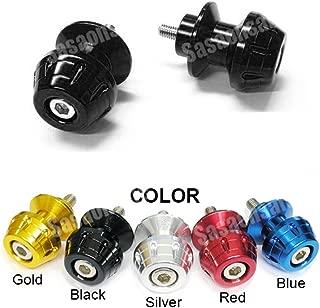 MIT Motors - BLACK - 10mm Universal Swingarm Spools - KAWASAKI ZX6R ZX6 636, ZX9R ZX9, ZX10R ZX10, ZX12R ZX12, ZX14R ZX14, ZZR 1200,600,900, Ninja 250, 650
