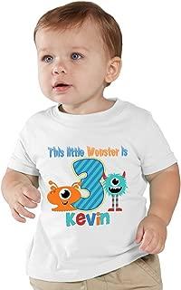 Children's This Little Monster Birthday Boy Personalized Shirt