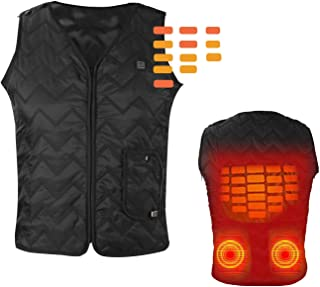 Heating Electric Vest USB Charging Heated Vest Cold-Proof Heating Clothes Washable (Battery Not Included)