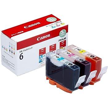 Canon キヤノン 純正 インクカートリッジ BCI-6(C/M/Y) 3色マルチパック BCI-6/3MP