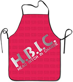 HBIC Head Bitch In Charge Platinum Style Kitchen Barbecue Apron