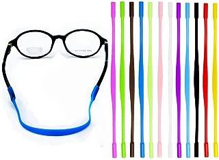 YALEX 12 Colors Anti-slip Glasses Strap Sports Glasses Strap Holder for Kids ,Glasses chain 12 Pieces