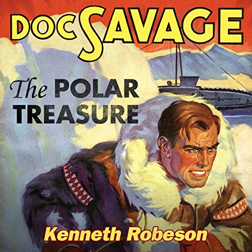 The Polar Treasure audiobook cover art
