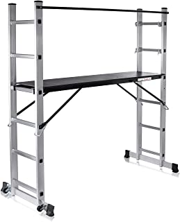 MAXCRAFT Plataforma de Trabajo Multipropósito Escalerilla