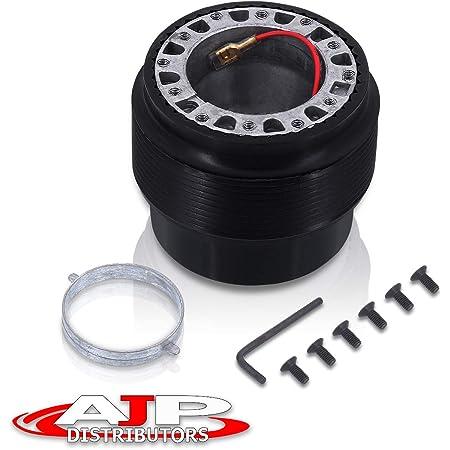 6 Hole Steering Wheel Adapter Aluminum 6-Bolt-Hole Steering Wheel Racing Hub Adapter for MAZDA 323 MIATA MX3 MX5 MX6