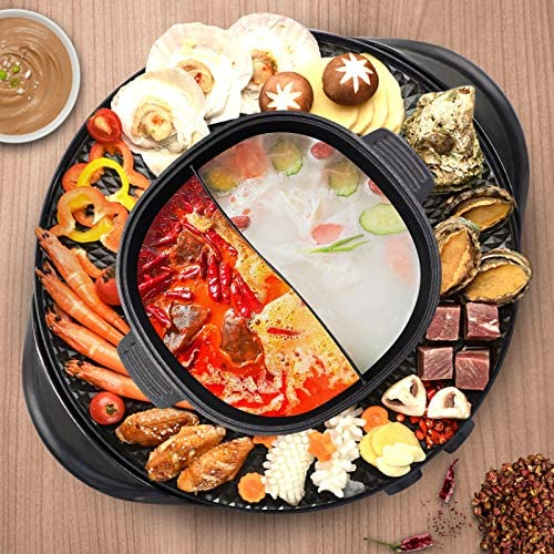 Top 10 Best hot pot with grill Reviews
