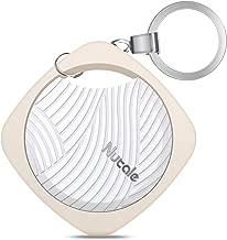 MADETEC Smart Key Finder Bluetooth WiFi Tracker Keys Alarm GPS Locator, Anti-Lost Bidirectional Alarm Reminder for Phone, Kids,Pets, Wallet,Luggage (Champagne Gold)