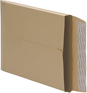 5 Star Office Envelopes Peel and Seal Gusset 25mm 115gsm Manilla C4 [Pack 125]