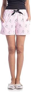 NITE FLITE Women's Mimosa Printed Cotton Shorts