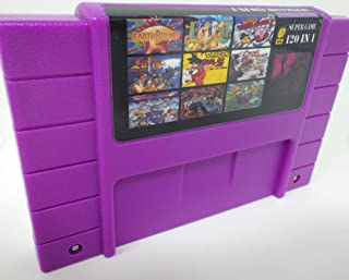 120 in 1 Game Cartridge Multi Cart 16 Bit SNES Game Multicart Card RPG Heaven Cartridge Battery Save for s nes game console