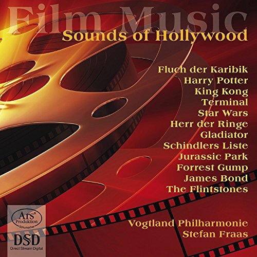 Filmmusik - The Sounds of Hollywood (Ausschnitte aus Jurassic Park, Harry Potter, Fluch der Karibik, Herr der Ringe, Star Wars u.v.m.)