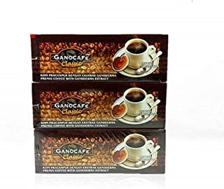 Ganocafe Classic Black Coffee Ganoderma 3 Box