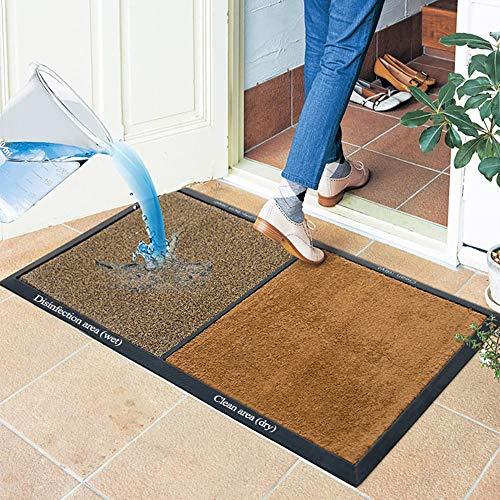 Delili 3D Shoe Soles Disinfecting Floor Mat, Carpet and Door Mats, Household Disinfectant Foot Pads for Classroom Office Entrance Indoor