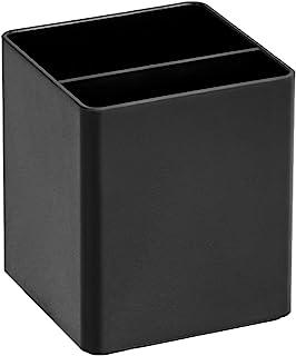 AmazonBasic 筆杯 塑料收納盒 黑色