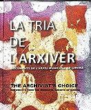 La tria de l'arxiver: Documents de l'Arxiu Municipal de Girona