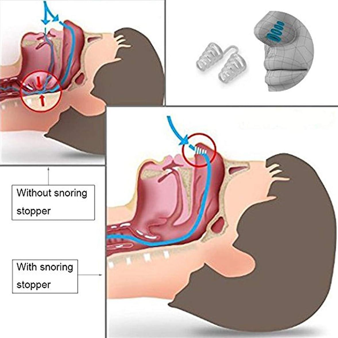 ペイントクラック広くNOTE 2017抗いびきベルトチンストラップケア睡眠鼻拡張器マウスガード4ピース抗いびきソリューションセット用男性女性