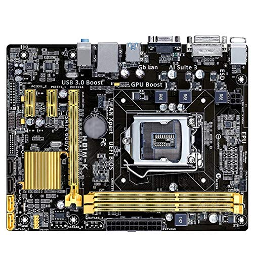 Ajuste para ASUS H81M-K placa base Micro ATX H81M-K LGA 1150 Systemboard H81M DDR3 para Intel H81 16 GB Desktop Mainboard USB 3.0 H81MK Usado Gaming Motherboard
