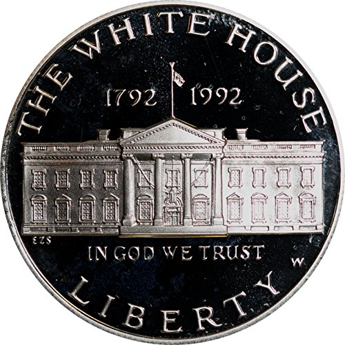 1992 Proof White House Commemorative Silver Dollar