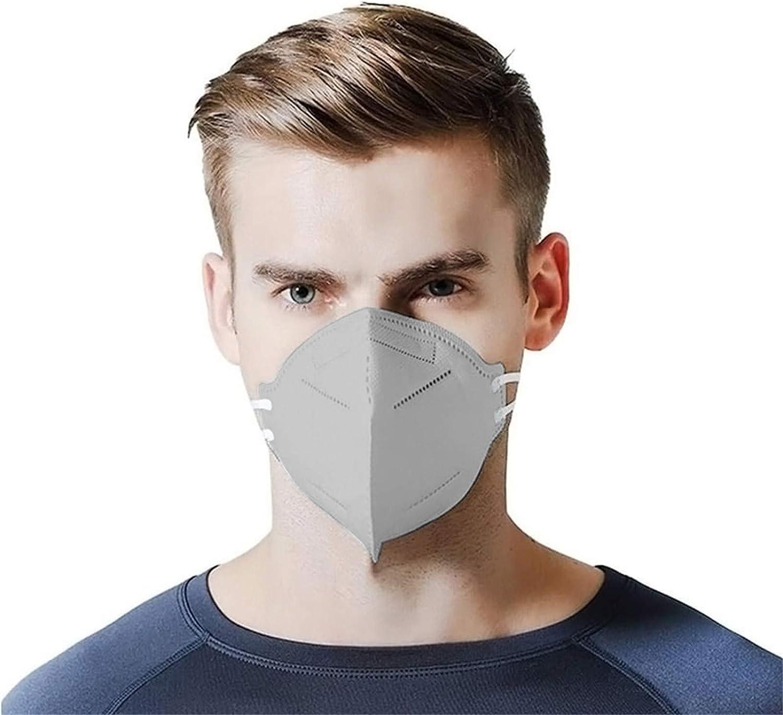 50 Stk Mundschutz/_Einweg Erwachsene Bunt Mund/_und/_Nasenschutz Erwachsene/_5 Lagige/_Schutz/_