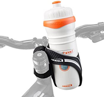 Black bike bicycle cycling water bottle cup holder cage handle bar or fraHK