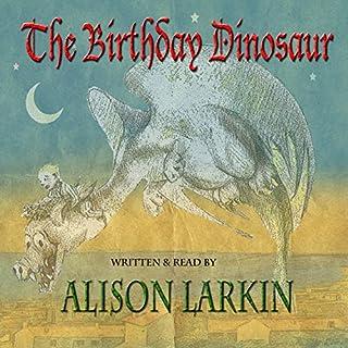 The Birthday Dinosaur audiobook cover art