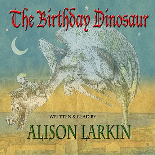 The Birthday Dinosaur audiobook cover art