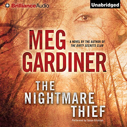 The Nightmare Thief audiobook cover art