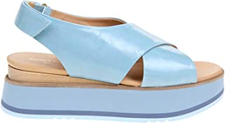 PALOMA BARCELÓ Luxury Fashion Womens TYLERLIGHTBLUE Light Blue Sandals | Spring Summer 20