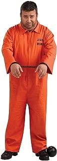 Orange Prisoner Jumpsuit Plus Size Adult Costume - Plus Size