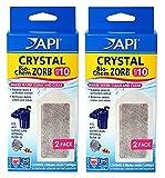 API Crystal Bio-Chem Zorb Internal Filter Cartridge (2x2 Pack) Size 10-783C