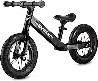 Zeroall Seguridad Bicicleta sin Pedales para Niños de 2-6 Años Bicicleta de Equilibrio Aleación de Aluminio Balance Bike con Sillín Ajustable Excelente Regalo para Niños y Niños Pequeños