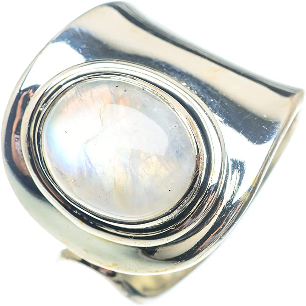 Ana Silver Co Rainbow Award-winning store Moonstone Ring Ster Adjustable Size 925 NEW 8