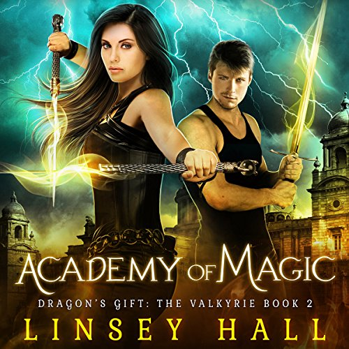 Academy of Magic audiobook cover art