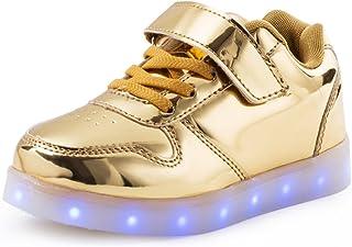 79b3cabe8936a AFFINEST affi Nid LED s allume Chaussures Sneakers avec USB Un Cadeau des  Enfants Garçon