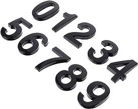 Angoily 10 Stks 3D Nummer Stickers 0-9 Zelfklevende Deur Huisnummers Mailbox Nummers Straat Adres Nummers Voor Mailbox Borden