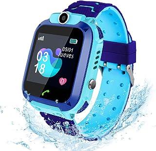 comprar comparacion AIMIUVEI Smartwatch Niños, Reloj Inteligente Niño IP67, LBS, Llamada Bidireccional, SOS Modo de Clase, Cámara, Juegos, Reg...