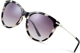 876f5c8947 Elegear Gafas de Sol Mujer 2019 Retro Gafas Mujer Grandes Vintage Redondas  100% Protección UV400